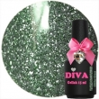 Diva Gel Lak Glitter Grass 15 ml.