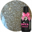 Diva Gel Lak Pleasure Gold 15 ml.