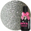 Diva Gel Lak Pleasure Silver 15 ml.