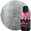 Diva Gel Lak Faboulous Silver 15 ml.
