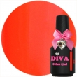 1704 Diva Gellak NEON Red 15 ml.